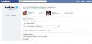 sincronizzazione facebook-twitter